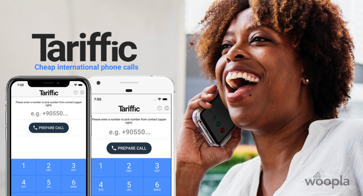 Tariffic for iPhone and Android