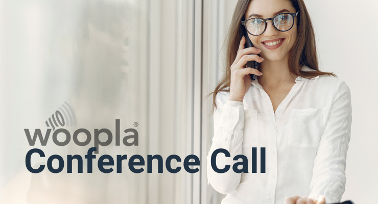 woopla conference call service